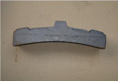 Remblok 560/320 zonder V-naad